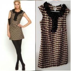 Milly Of New York Shift Dress 100% Silk
